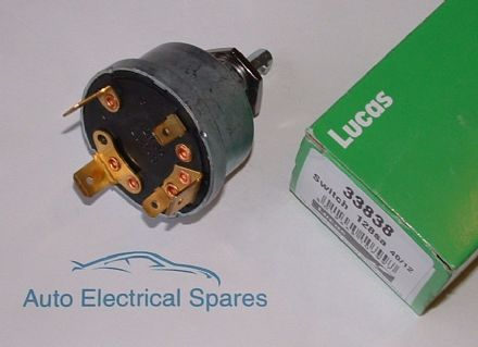 lucas 33838 128SA rotary ignition switch